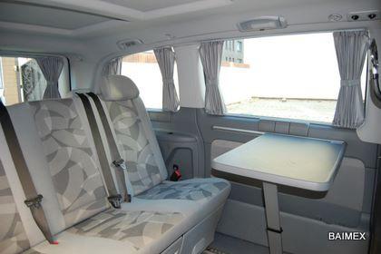 Mercedes Viano Gardinen Innenraum