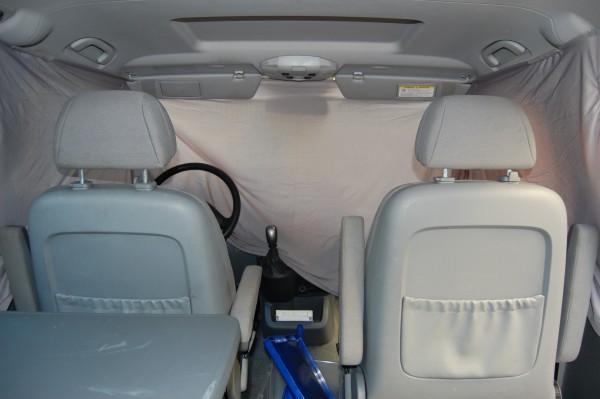 Front-Gardinenset für alle Van-Modelle