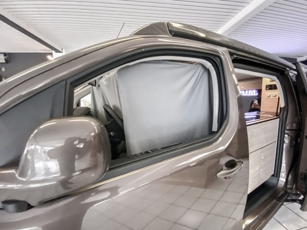Autogardinen Citroen Spacetourer / Opel Zafira, doppellagig