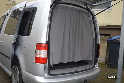 Autogardinen für Ihren VW Caddy (alle Modelle) | Baimex Autogardinen