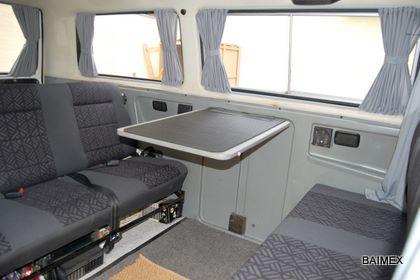 Autogardinen f r ihren vw t3 alle modelle baimex - Transporter un frigo couche ...