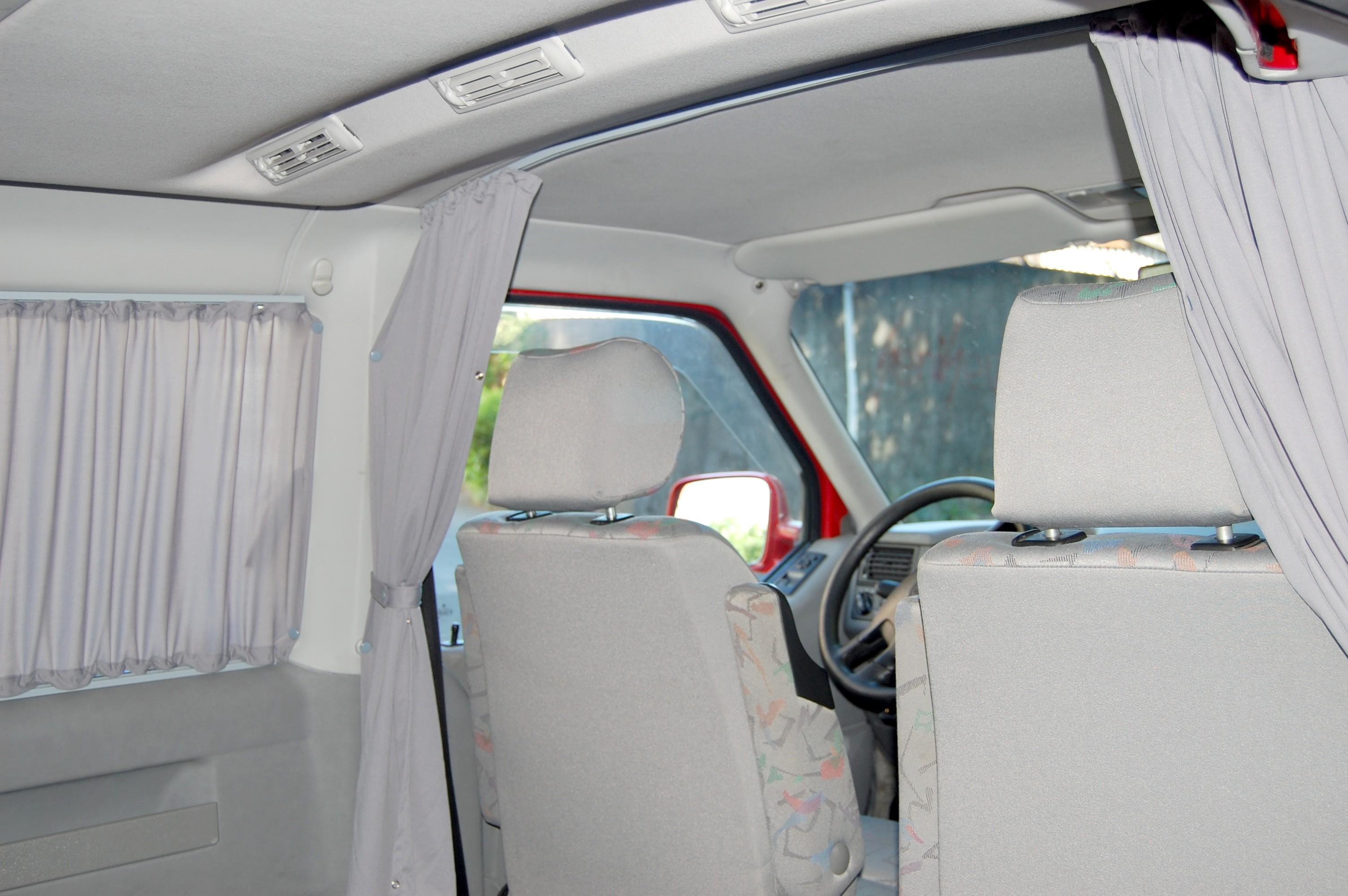 VW T4 Fahrerhaus Abtrennung Sichtschutz reisen Autogardine  Baimex neu